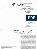 Averil Cameron- El Mundo Mediterraneo en La Antiguedad Tardia