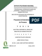 Propuesta de Estandarización