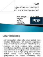 Ppt Sedimentasi Fix