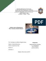 Biografía del Pbro. Francisco Antonio Rosario.