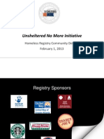 Atlanta 2013 homeless registry debriefing