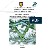 Informe Sector Lago Elizalde