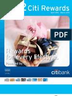 2012 Citireward Catalogue