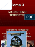 (Tema 03)Magnetismo Terrestre