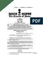 Criminal Law (Amendement) Ordinance 2013