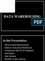 303 - Data Warehousing