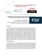 PREDICTION OF TRANSPORTATION SPECIALIZED VIEWS OF   MEDIAN SAFETY BY USING FUZZY LOGIC APPROACH