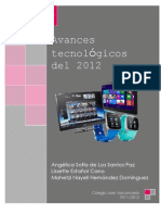 Avances tecnológicos del 2012
