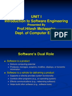 PUNE University  SRES COE Class Material Software Engineering
