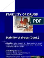 Stability of Drugs2012