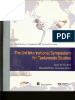 Han MWL. Effects of skill levels and practice-competition conditions on the anxiety and mood states in high school adolescent taekwondo athletes.Proceedings of The 3rd International Symposium for Taekwondo Studies. Kyunghee University, Gyeongju, Republic of Korea, April 29-30. 2011;60-65.