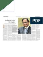My interview with P. Chidambaram, Jan 23 2013