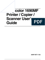magicolor 1690 mf user guide