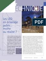 LEDen eclairage public