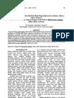 Uji Aktivitas Antioksidan Ekstrak Buah Naga