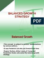 balanced growth strategy