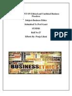 ethicalandunethicalbusinesspractices
