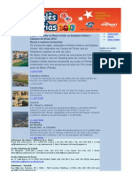 Newsletter Inglês verão 2013