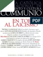 Communio En torno al Laicismo.pdf