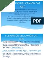 SUSPENSIÓN DEL CAMIÓN CAT 793C