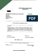 spm trial sejarah terengganu 2012