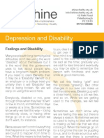 Depression and Disability