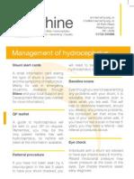 Management of hydrocephalus