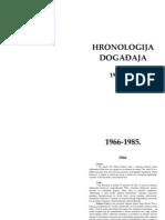 Hronologija 1966-2006