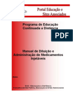 Manual Medicamento Injetavel