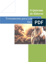 Treinamento Para o Sacerdcio - A Presidencia Do Quorum de Elderes