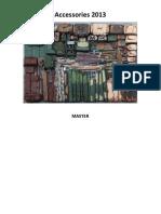 2013 Beretta SpA Accessories Workbook