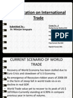 PRESENTATION ON INTERNATIONAL TRADE