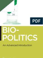 Biopolitics - an advanced introduction
