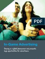 Game Advertising