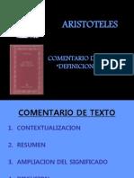 Presentación ARISTOTELES