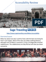 Milan Accessibility Review