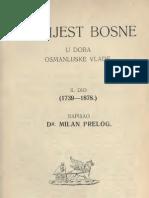 Milan Prelog_povijest Bosne u Doba Osmanlijske Vlade 2