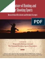 NSSF Hunting study