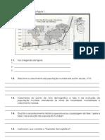 Teste de Geografia Fev 2013