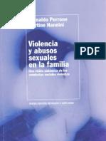 Violencia y Abusos Sexuales en La Familia