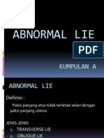presentation of fetus