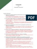 TD 2 - Cryptographie asymétrique (corrigé)