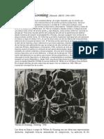 Expresionismo_Abstracto 2 Willem de Kooning_ESEADE 08