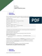 Exercice Java Traite Le