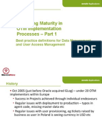 2013 OTM EU SIG evolv applications Data Management
