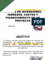6. Inversiones, Ingresos, Egresos y Financiamiento