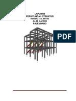 Perhitungan Struktur Baja Gedung