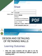 RETAINING WALLpdf Mathematical Optimization Civil Engineering
