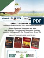 MATERI EXECUTIVE WORKSHOP FUNDAMENTAL ISLAMIC LEADERSHIP