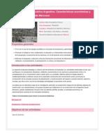 Geografía de la República Argentina. Características económicas y sociales de países del Mercosur